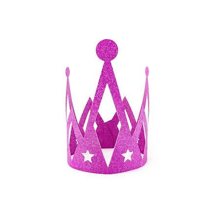 Prinsesskrona - Rosa