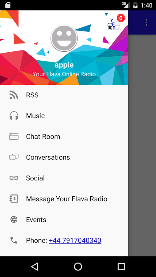 Your Flava Online Radio- screenshot