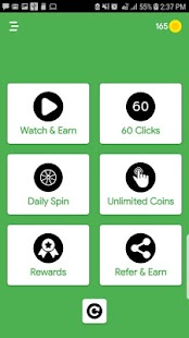 Coin Cash - Earn Real Money Fast Screenshot