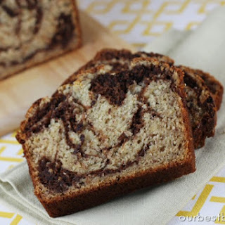 Chocolate Swirled Banana Bread {and Classic Banana Bread}