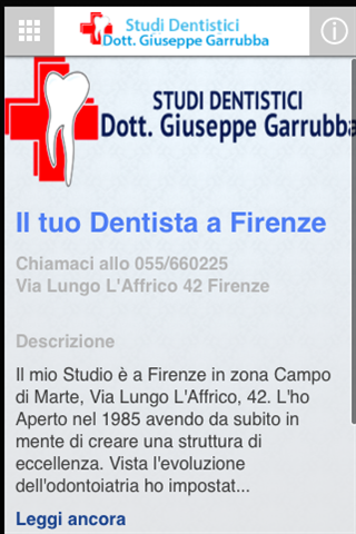 Studi dentistici Garrubba- screenshot