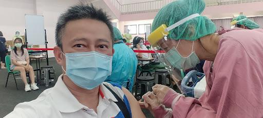 吉安國小施打AZ疫苗