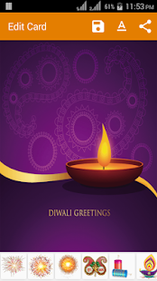 Diwali greeting card apps on google play screenshot image m4hsunfo
