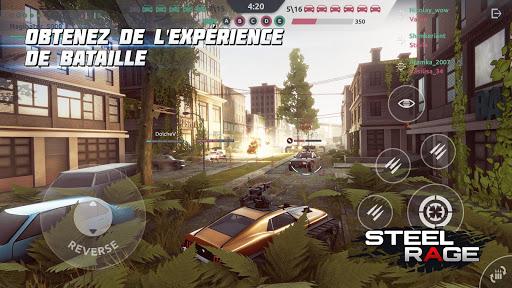 Télécharger Gratuit Steel Rage: Shooter JcJ de véhicules robots APK MOD (Astuce) 5