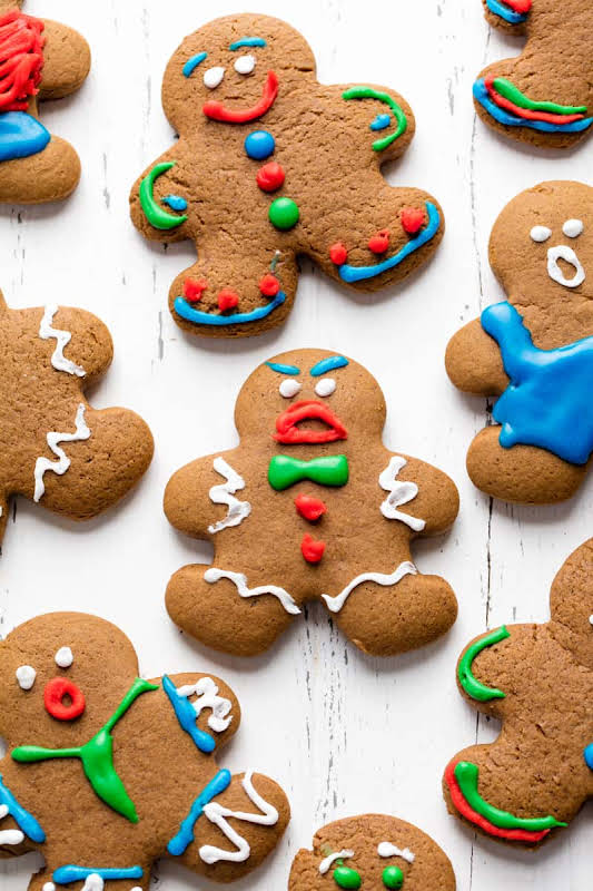 Old Fashioned Gingerbread Cookies