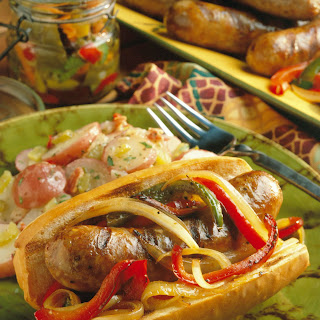 Italian Sausage and Pepper Heroes.