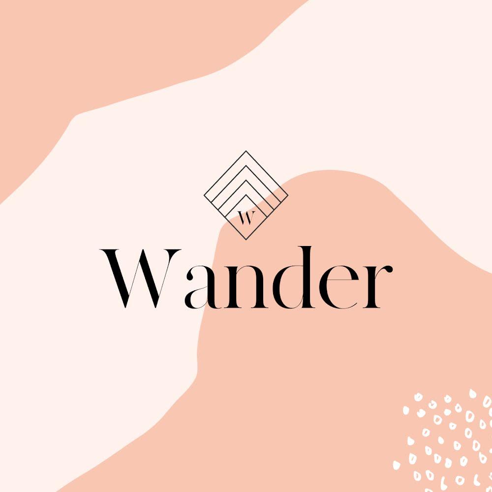 Wander Graphic Design - Logo Template