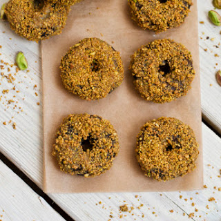Mini Chocolate Pistachio Donuts