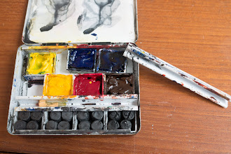 Photo: Bijou watercolour box