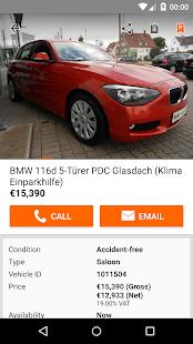 mobile.de – vehicle market- screenshot thumbnail