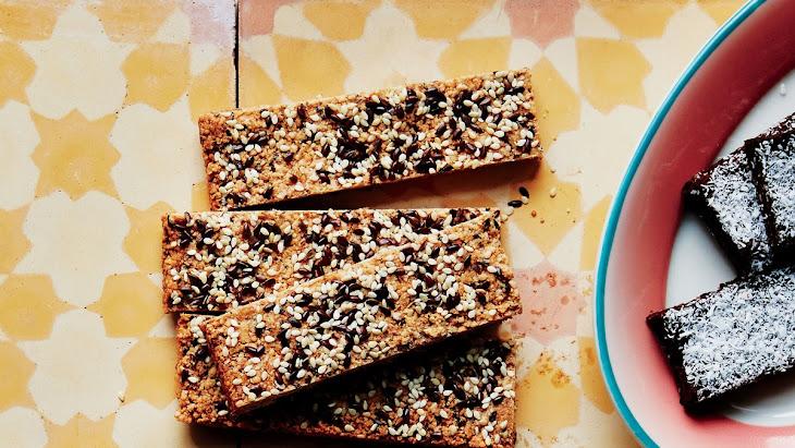 Crunchy Cashew-Sesame Bars Recipe