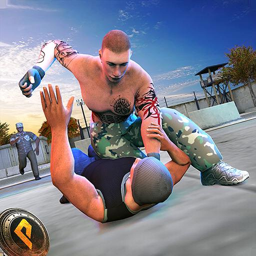 Wrestling Superstars - Real Gangster Fight in City