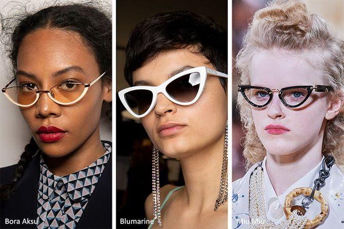 Hochmoderne dreieckige Gläser i
