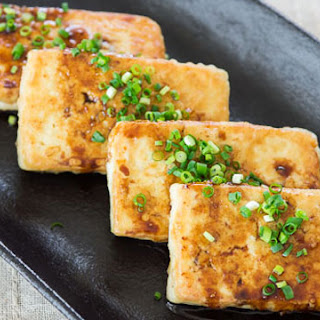 Pan-Fried Tofu.