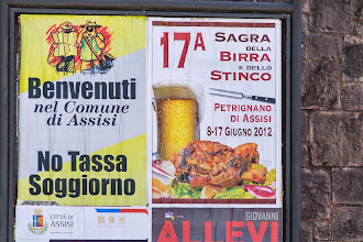 Photo: A sagra that we will not be attending