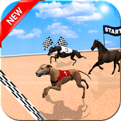 Crazy Dog Racer and Horse Run