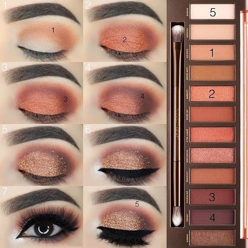 Step by step learn eye makeup Apk 1