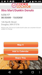 Girl Scout Cookie Locator APK screenshot thumbnail 2