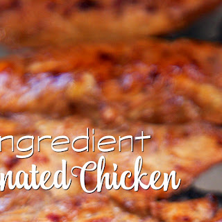 3-Ingredient Marinated Chicken