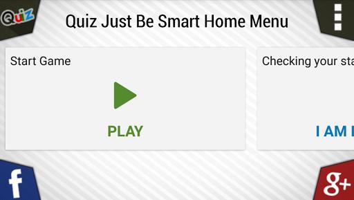 Quiz Just Be Smart 1.50/1804030 screenshots 1