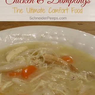 Chicken & Dumplings.