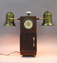 Photo: steampunk cabinet lamp