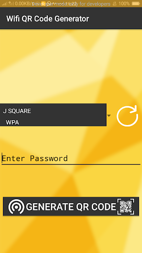 WiFi QR code generate and Connect wi-fi by omcode (Google