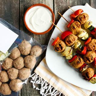 Grilled Greek Kebabs