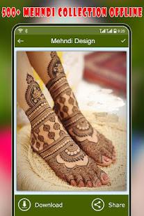 Download Mehndi Design : Dulhan Mehndi (Offline) For PC Windows and Mac apk screenshot 3