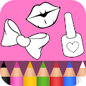 Beauty Coloring Book 2 💖💄 icon