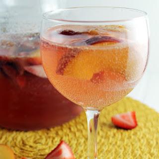 Strawberry-Nectarine Tequila Sangria