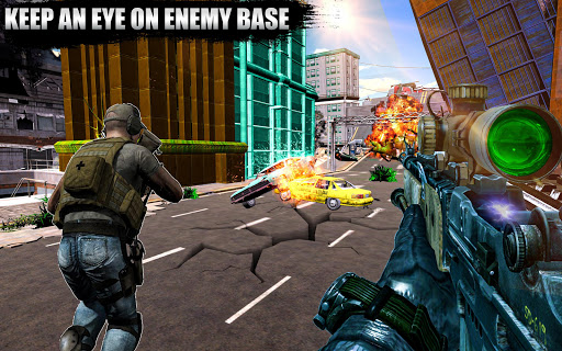 Code Triche New Sniper Shooting 2020 u2013 Shooting Games Free APK MOD screenshots 5
