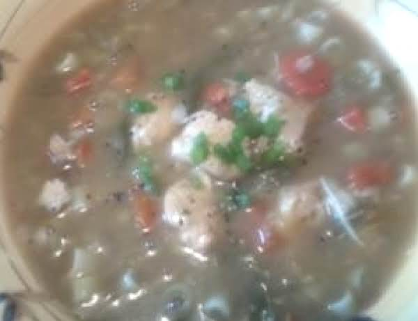 Survival Chicken Veggie Stoup Recipe
