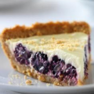 Blackberry Yogurt Pie.