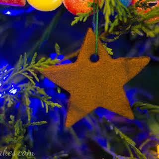 Baked Cinnamon Ornaments.