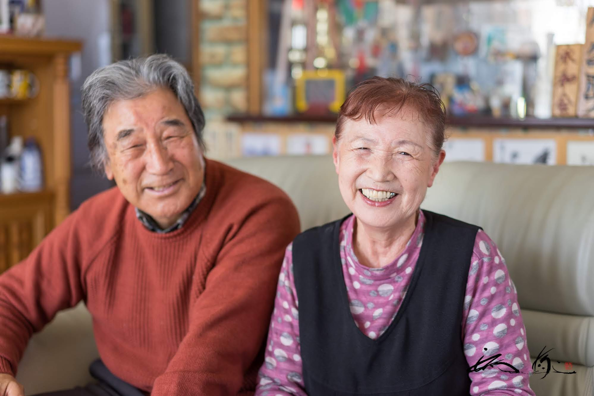 山田さんご夫妻揃って素敵な笑顔♡