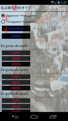 Japanese-Portuguese Translator