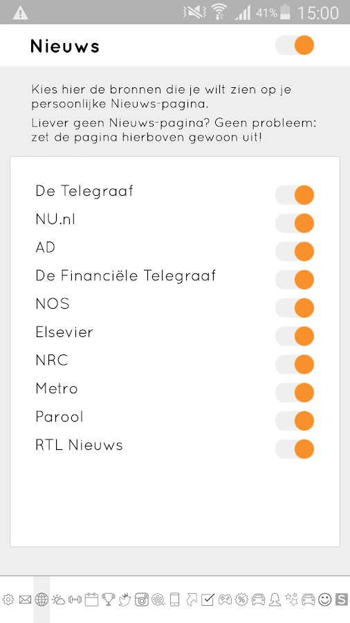 Skoep Nieuws- screenshot