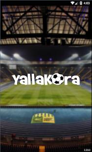 YallaKora - náhled
