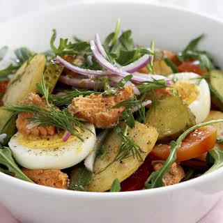 Salmon and Potato Salad.