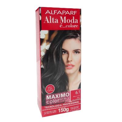 tinte alfaparf kit 6.1 rubio oscuro cenizo
