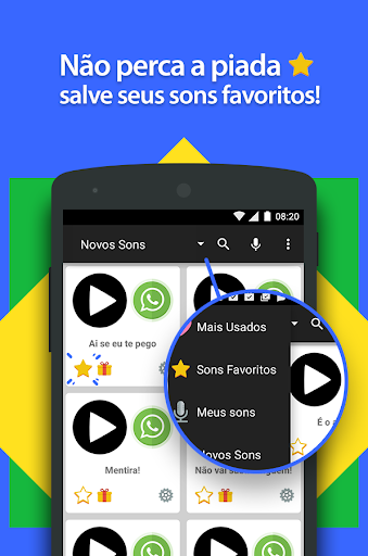 Sons Engrau00e7ados pra WhatsApp 1.15 screenshots 5