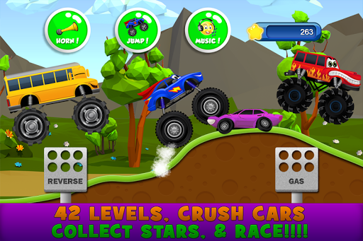 Monster Trucks Game for Kids 2 apkpoly screenshots 4