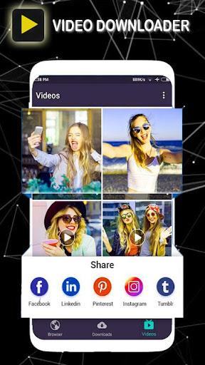 Vidoder Downloader Video HD 4.0.0 screenshots 2