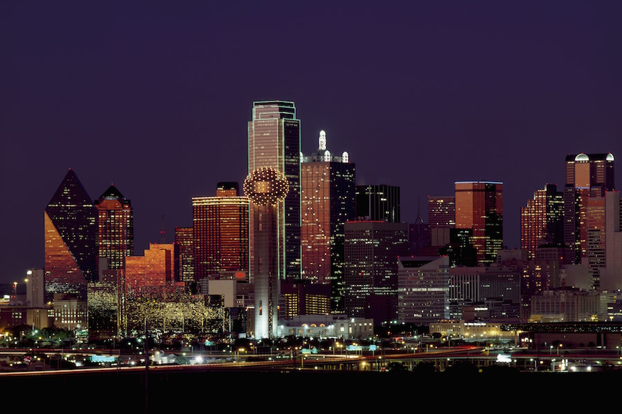A view of Uptown Dallas