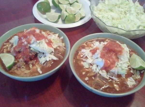Delicious Mexican Pozole A La Quick & Easy___bebita ;) Recipe