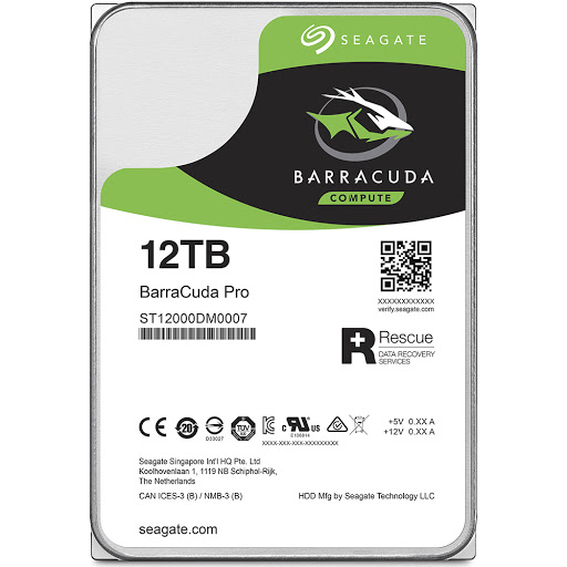 Ổ cứng HDD PC Seagate Barracuda Pro 12TB 3.5