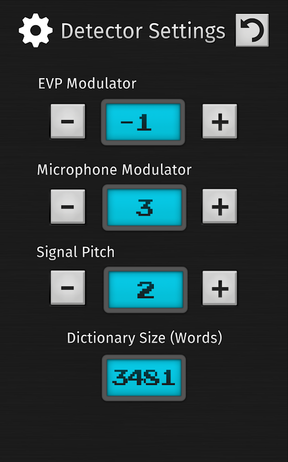 Ghost Hunting Tools (Detector)- screenshot