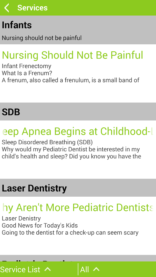 Ashburn Children's Dentistry- screenshot