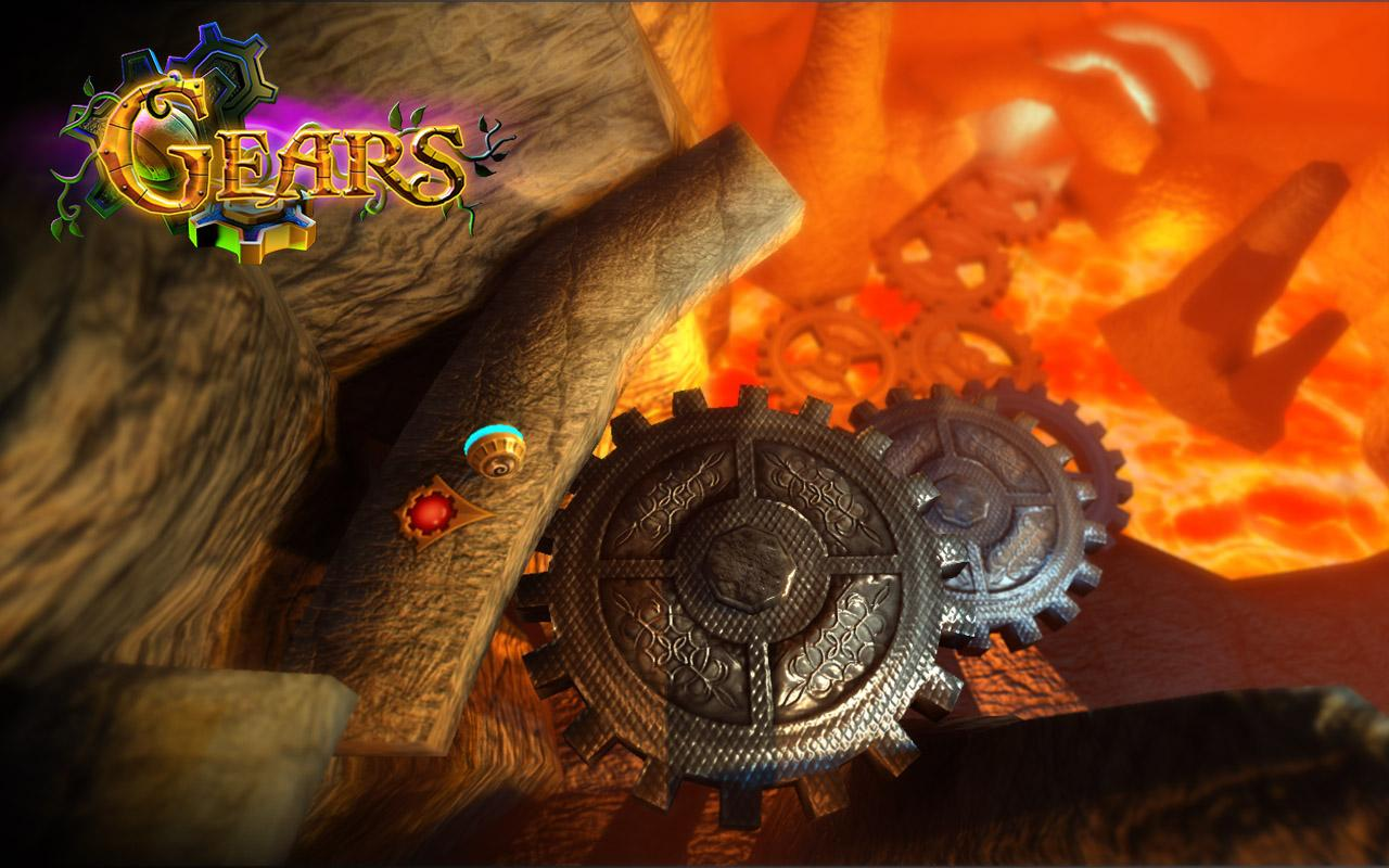 Gears - 3d Ball-Rolling Puzzle- screenshot